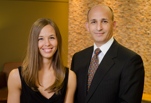 Dr. Sara Wood and Dr. Dionysios Veronikis
